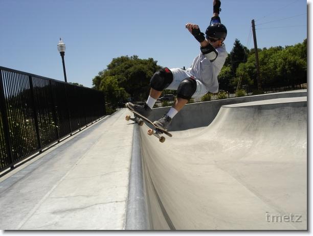 Tim Metz at Menlo Park