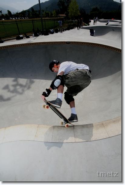 Tim Metz at Pala.