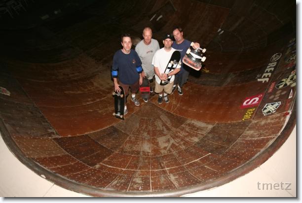 Tim, Dan, Chris, Bill.